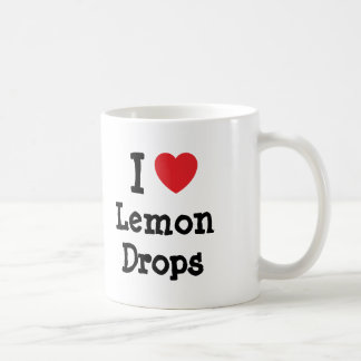 I love Lemon Drops heart T-Shirt Coffee Mug