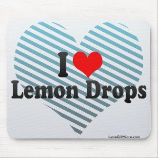 I Love Lemon Drops Mouse Pads