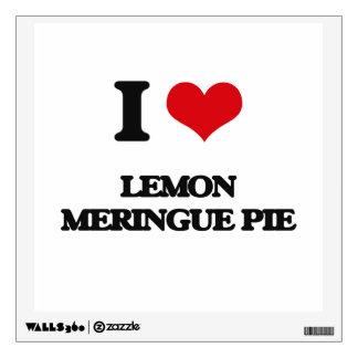 I love Lemon Meringue Pie Wall Stickers