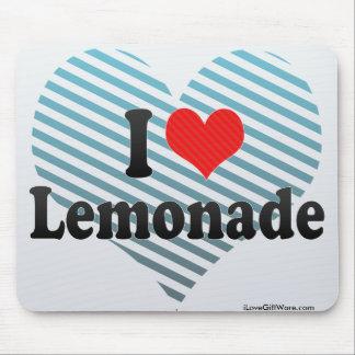 I Love Lemonade Mouse Pad