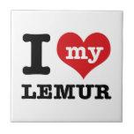 I love Lemur Ceramic Tiles