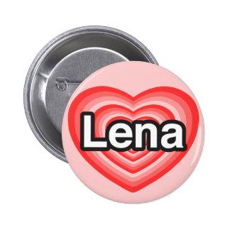 I love Lena. I love you Lena. Heart Button