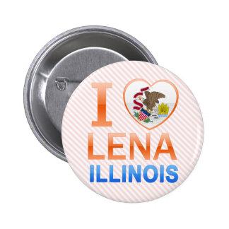 I Love Lena, IL Pin