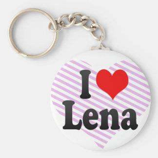 I love Lena Keychain