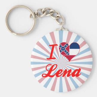 I Love Lena, Mississippi Key Chain