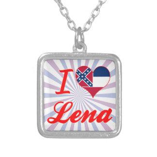I Love Lena, Mississippi Necklace