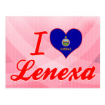 I Love Lenexa, Kansas Postcard