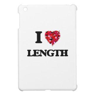 I Love Length iPad Mini Cases