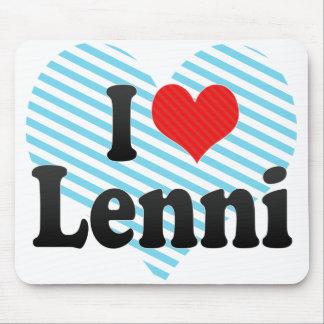 I Love Lenni Mouse Pad