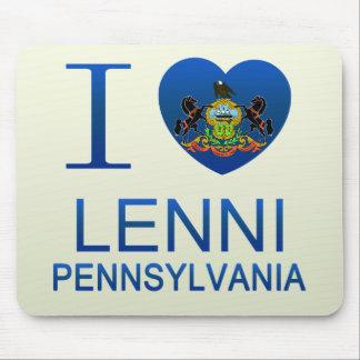 I Love Lenni, PA Mouse Pad
