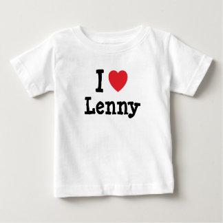 I love Lenny heart custom personalized Tee Shirts