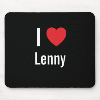 I love Lenny Mouse Pad