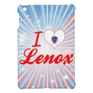 I Love Lenox, Massachusetts iPad Mini Covers