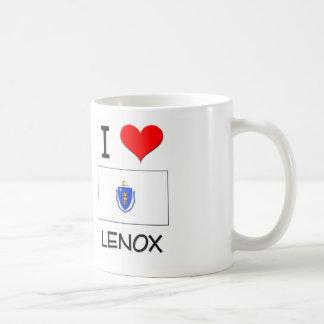 I Love Lenox Massachusetts Coffee Mug