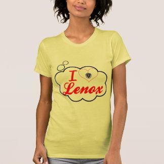 I Love Lenox, Massachusetts Tee Shirts