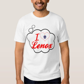I Love Lenox, Massachusetts Tshirts