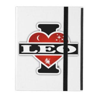I Love Leo iPad Case