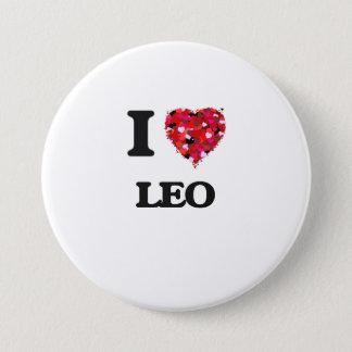 I Love Leo Pinback Button