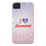 I Love Leonard, Minnesota iPhone 4 Cover