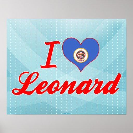 I Love Leonard, Minnesota Posters
