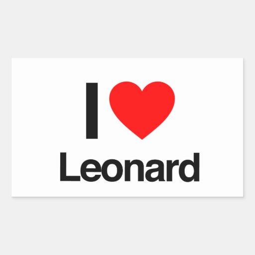 i love leonard stickers