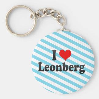 I Love Leonberg, Germany Key Chains