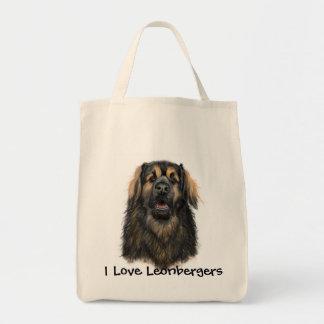 I Love Leonbergers Tote Bag