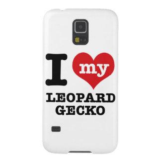 I love LEOPARD GECKO Galaxy S5 Case