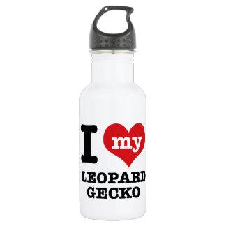 I love LEOPARD GECKO Water Bottle