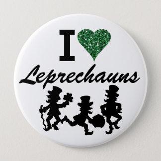 I Love Leprechauns - SRF Button