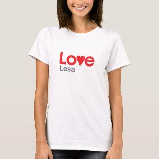 I Love Lesa T-Shirt