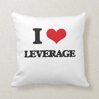 I Love Leverage Pillows