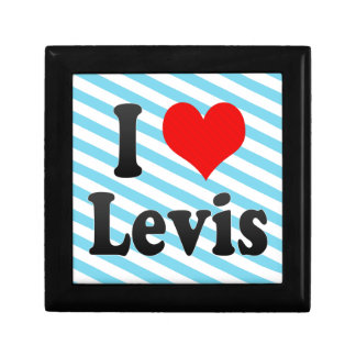 I Love Levis, Canada. I Love Levis, Canada Jewelry Boxes