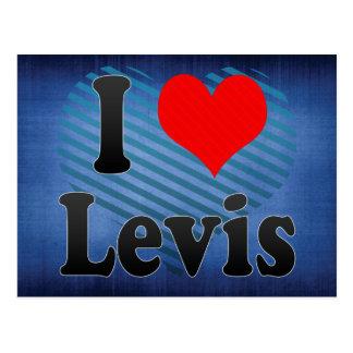I Love Levis, Canada. I Love Levis, Canada Postcards