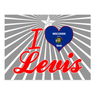 I Love Levis, Wisconsin Post Cards