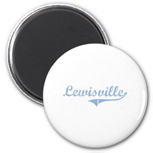 I Love Lewisville North Carolina Magnet