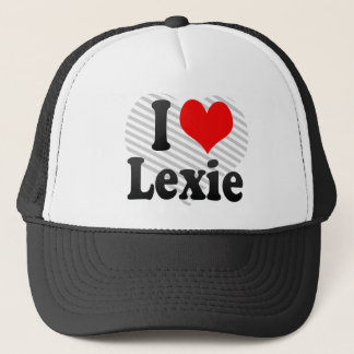 I love Lexie Trucker Hat