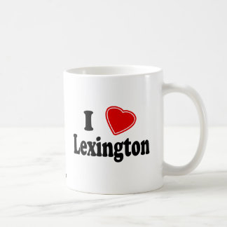 I Love Lexington Coffee Mug