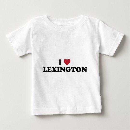 I Love Lexington Kentucky Baby T-Shirt