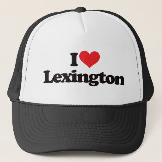 I Love Lexington Trucker Hat