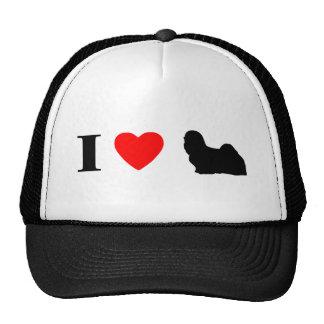 I Love Lhasa Apsos Hat
