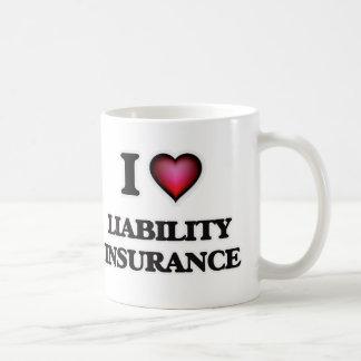 I Love Liability Insurance Coffee Mug