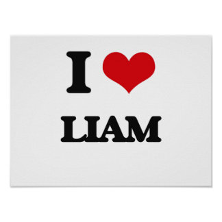 I Love Liam Poster