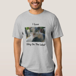 I Love Libby on the Label Tee Shirt