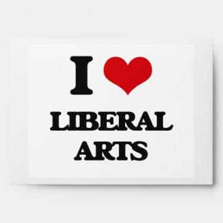 I Love Liberal Arts Envelopes
