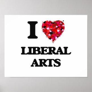 I Love Liberal Arts Poster