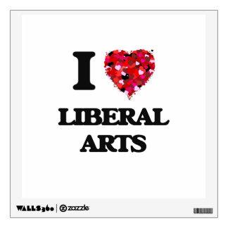 I Love Liberal Arts Room Stickers
