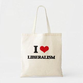 I Love Liberalism Canvas Bag