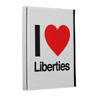 i love liberties iPad case