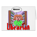 I Love Librarians Card